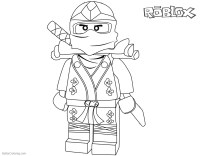 roblox character coloring pages | Coloriage Roblox A Imprimer | Roblox Drawing Coloring ...