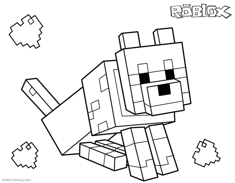 Roblox Coloring Pages Friends