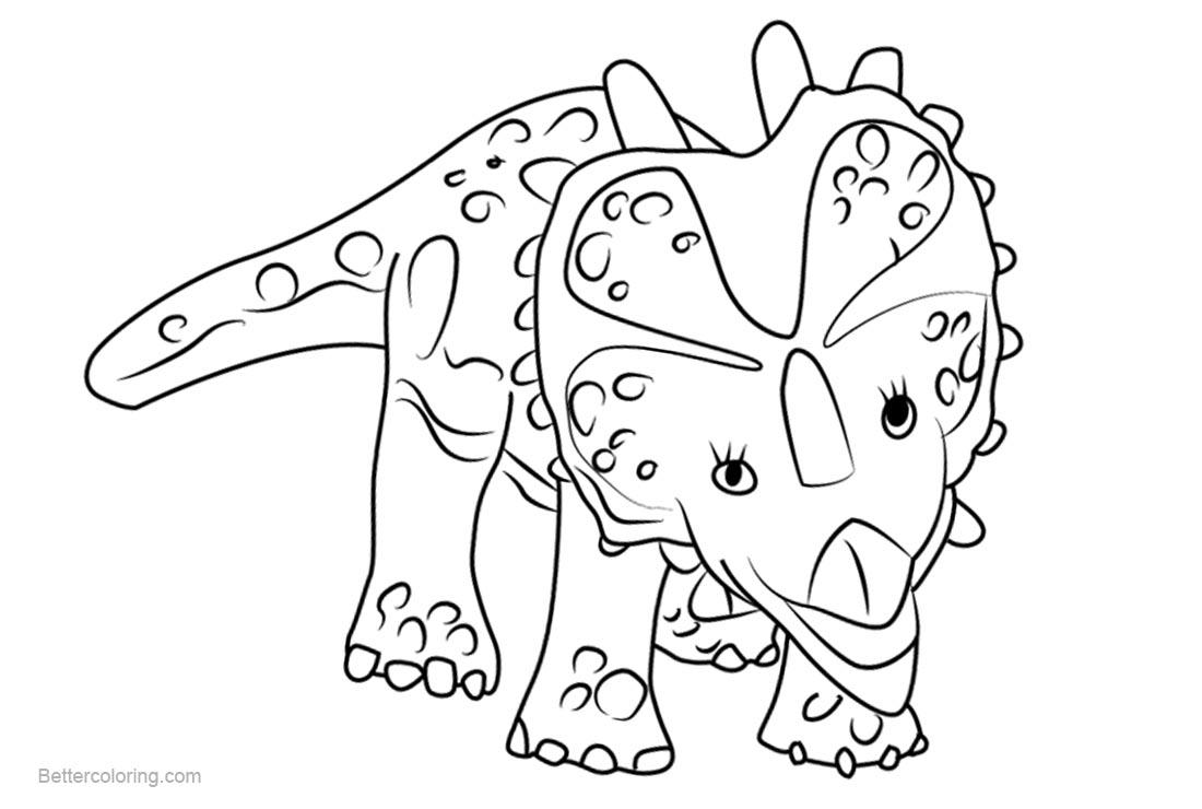Dinosaur Train Coloring Page Eskayalitim