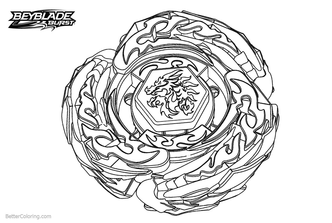 beyblade burst coloring sheets  beyblade official on