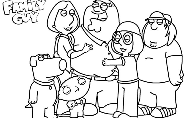 Printable Family Guy Coloring Pages For Kids Cool2bkids Family Coloring Pages Family Cute766