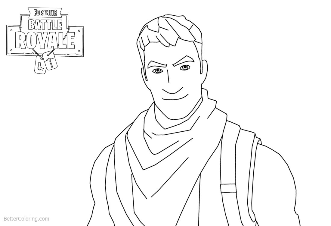 fortnite battle royale coloring page lama fortnite