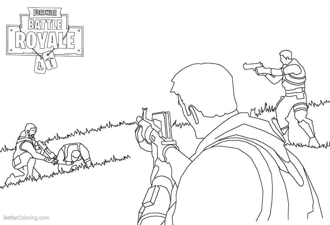 Llama De Fortnite Dibujo Para Colorear 3 Fortnite Free Tier