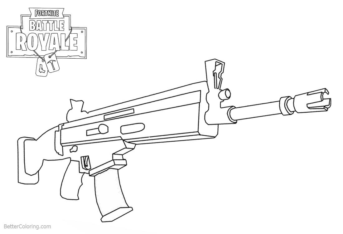 fortnite raven skin drawing sketch Gun Skins Camo