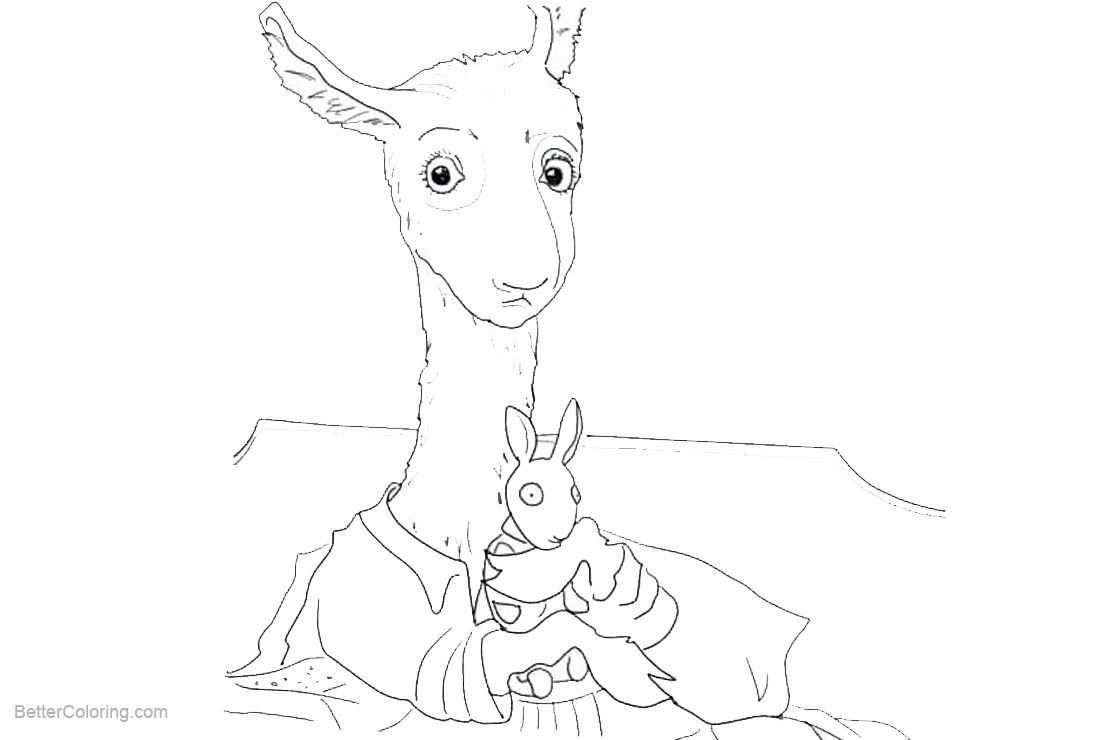 pigs in pajamas coloring pages - photo#34