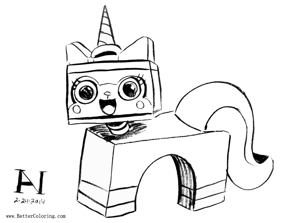 20 Lego Uni Kitty Coloring Pages Ideas And Designs