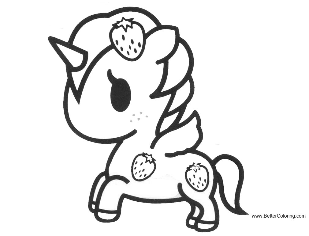 Tokidoki Donutella Pages Coloring Pages