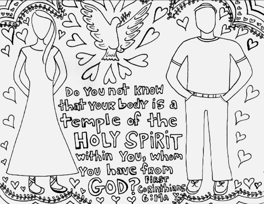 Bible Verse Coloring Pages Corinthians