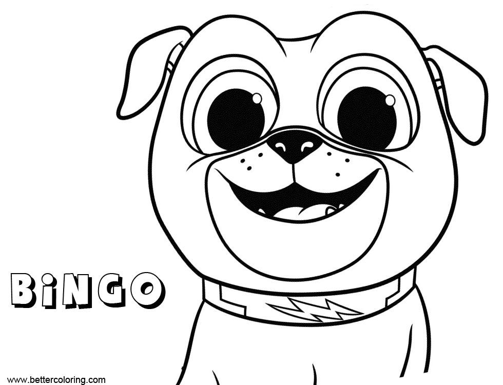 Puppy Dog Pals Bingo
