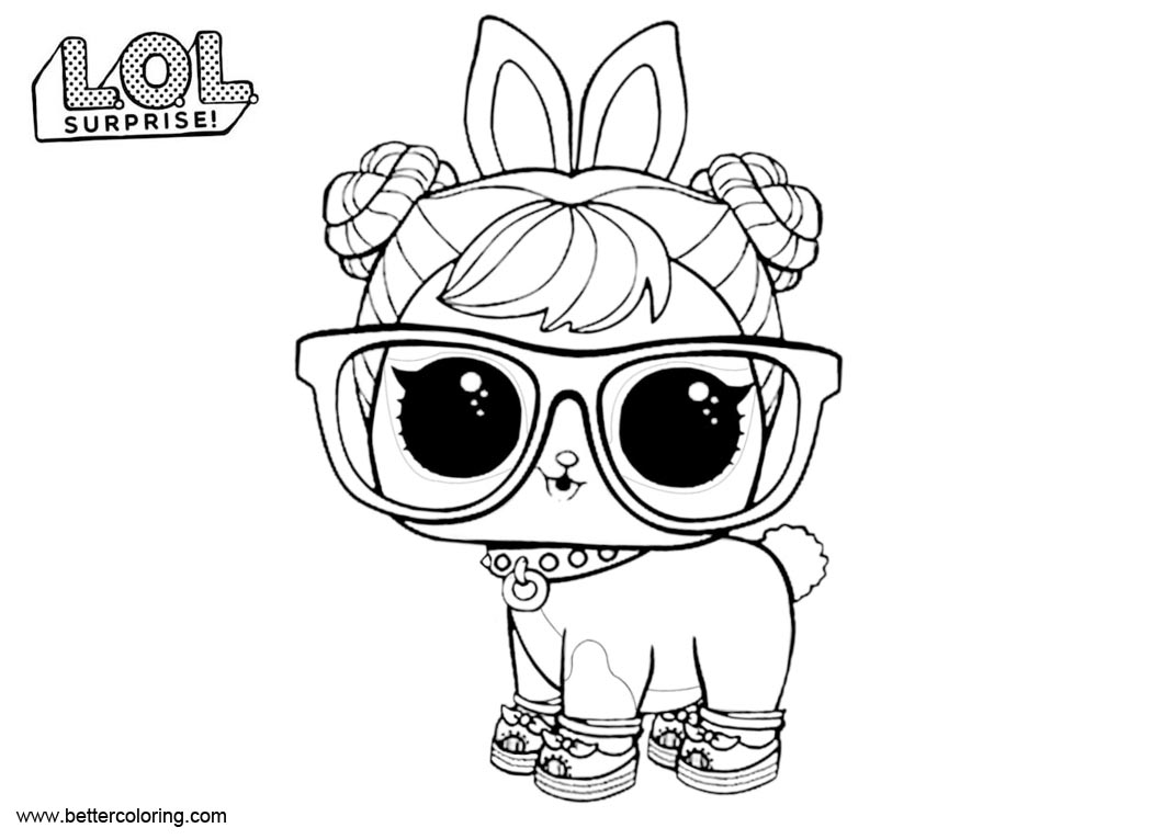 Lol pet coloring pages printable best coloring page 2018