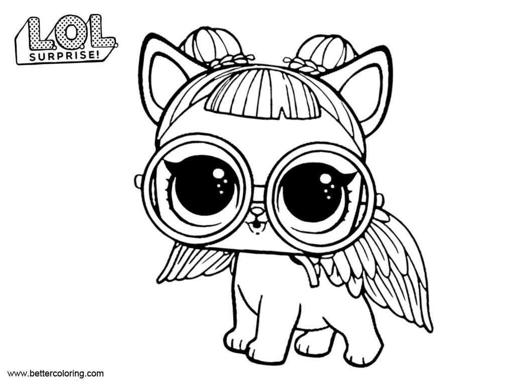 Amazing bunny wishes coloring page lotta lol lol surprise coloring