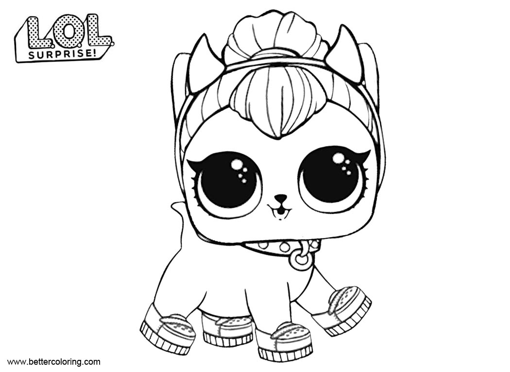 Lol pets coloring pages design templates
