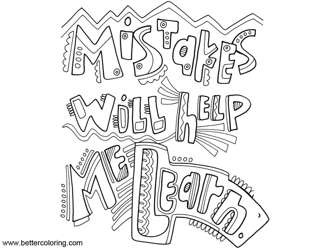Helping Children Grow Story Sketch Coloring Page