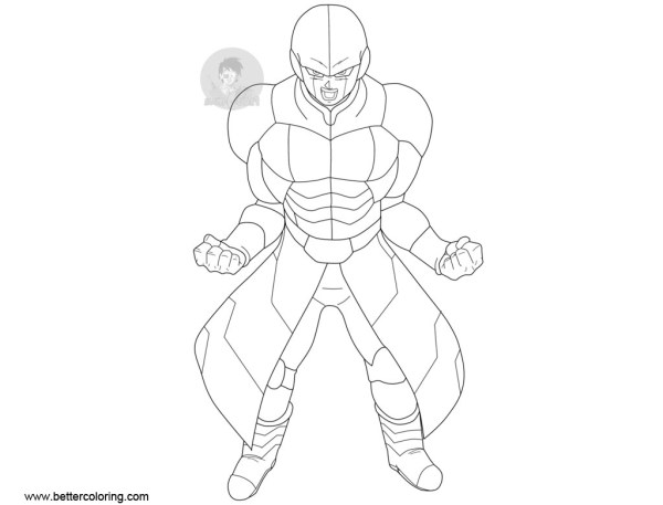 20 Dbz Hit Coloring Page Ideas And Designs