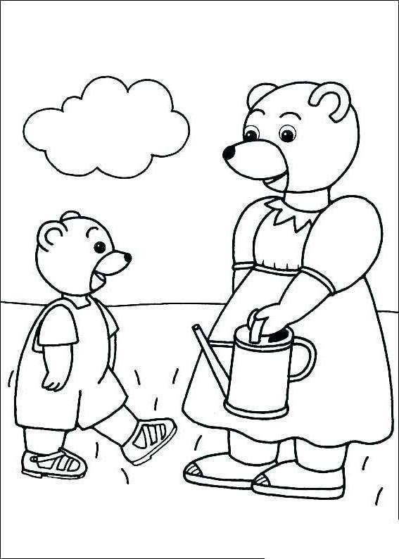 Printable Brown Bear Brown Bear Coloring Pages for Kids