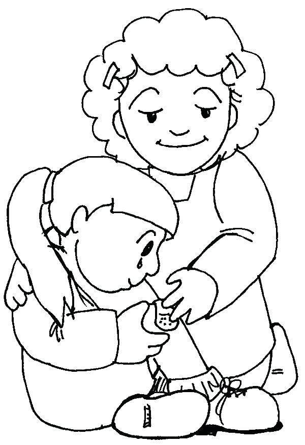 Kindness Coloring Pages Free Drawings Showing