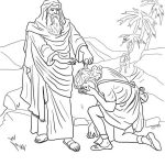 Samuel In The Bible Coloring Pages Hannah Prays for Kids