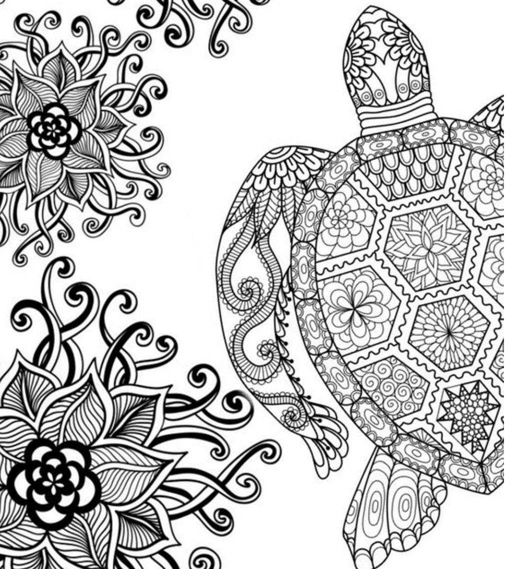 Abstract Art Coloring Pages Adult Colouring