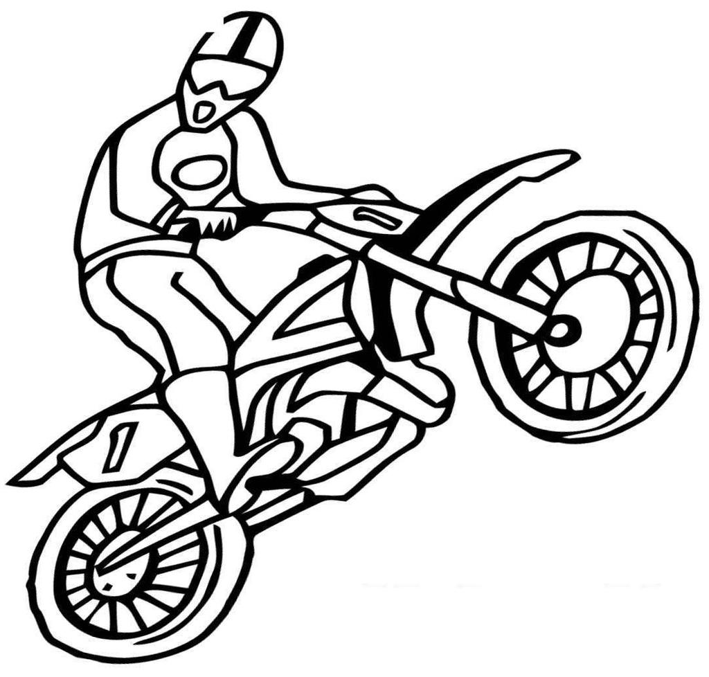 Dirt Bike Coloring Pages Fascinating Honda for Adults