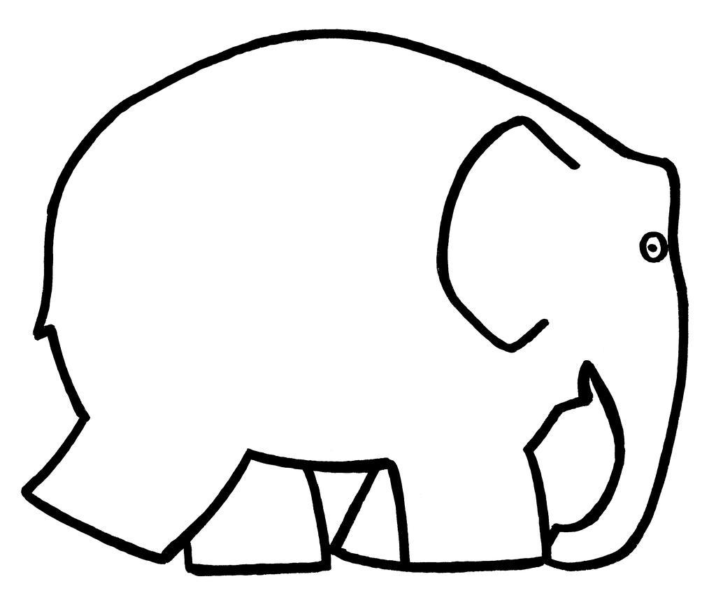 Elmer The Elephant Coloring Pages Kleuren Schilderen