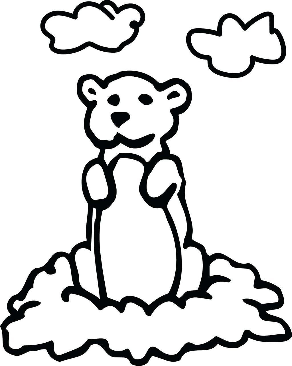 Free Printable Coloring Pages Groundhog Day