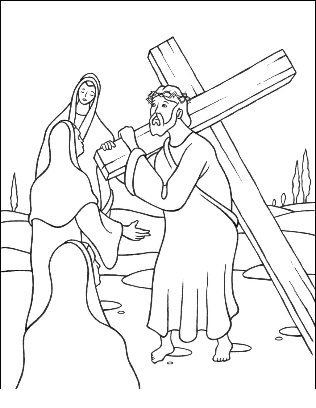 Jesus Calms The Storm Coloring Pages Getings Download