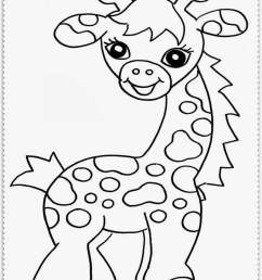 jungle animal coloring pages baby animals clipart [ 810 x 1066 Pixel ]
