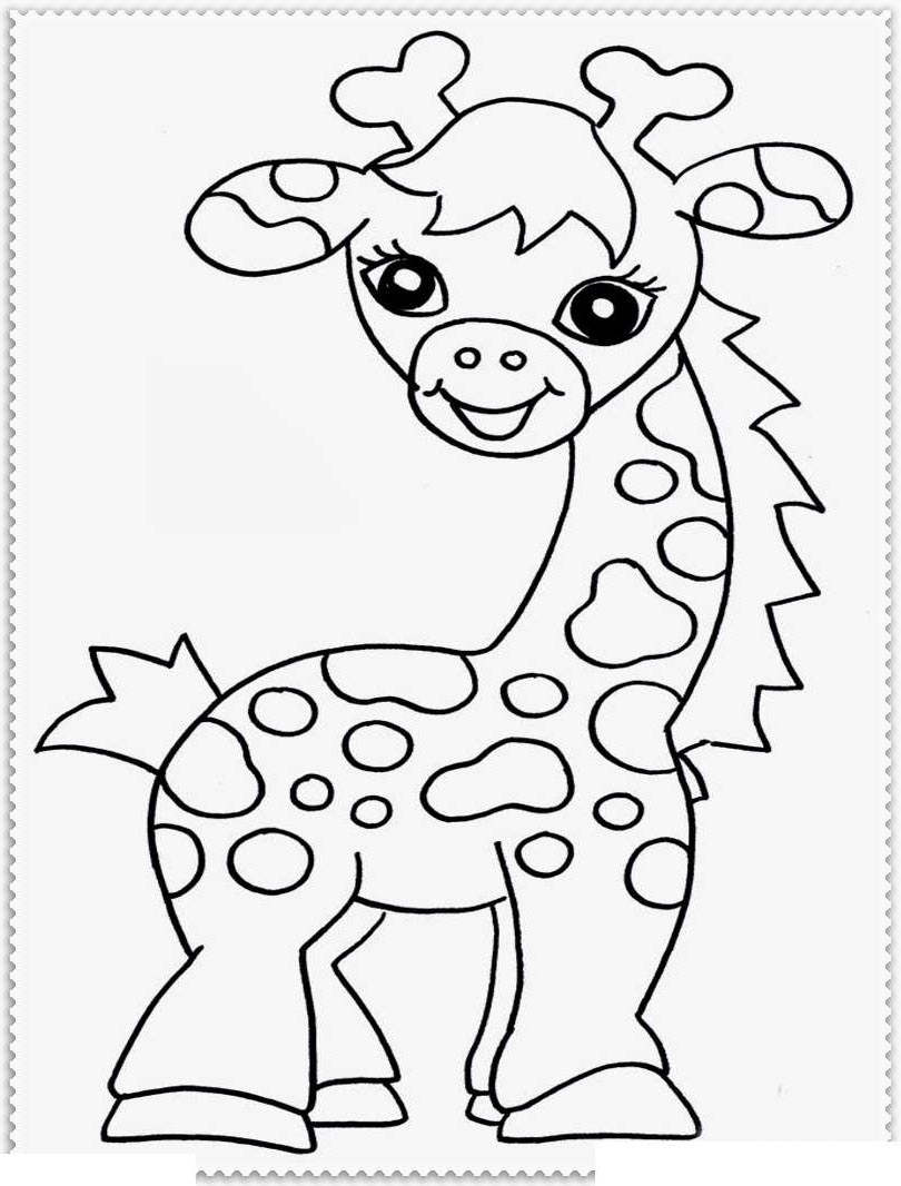 medium resolution of jungle animal coloring pages baby animals clipart