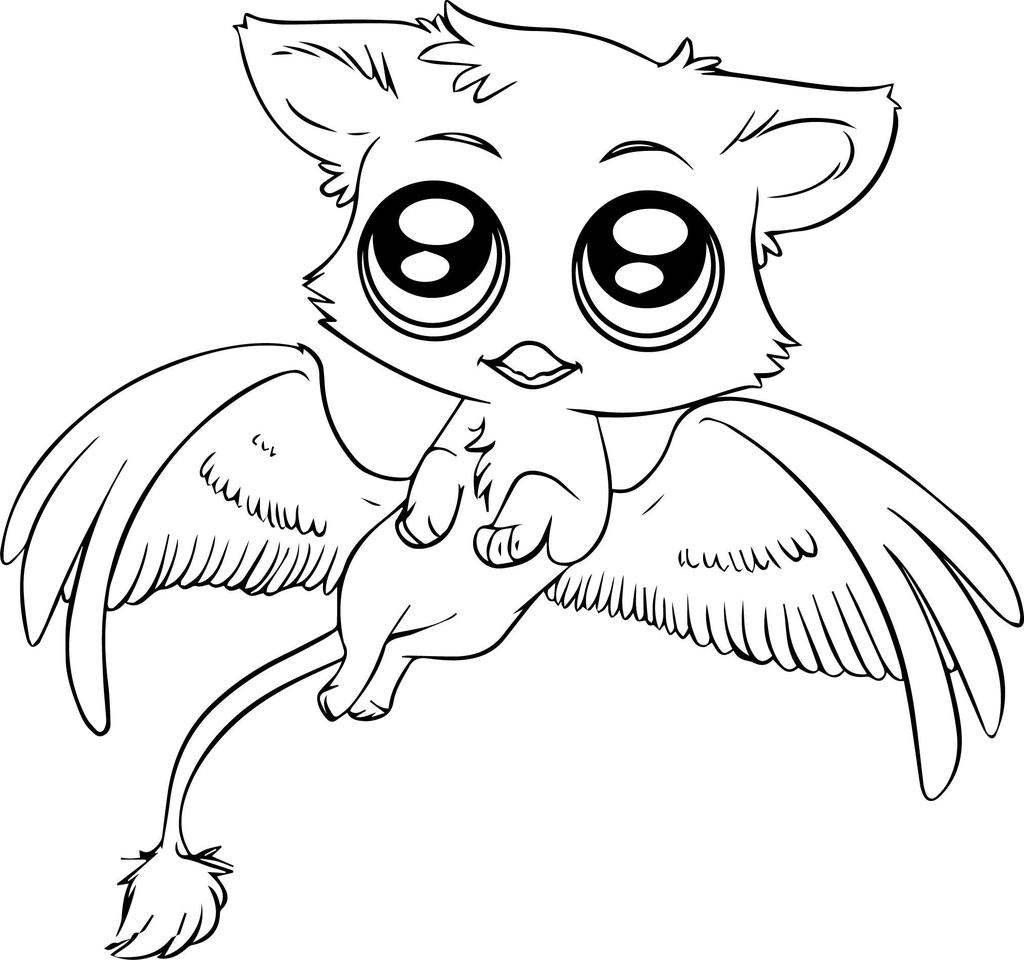 Jungle Animal Coloring Pages Baby Animals For Preschool