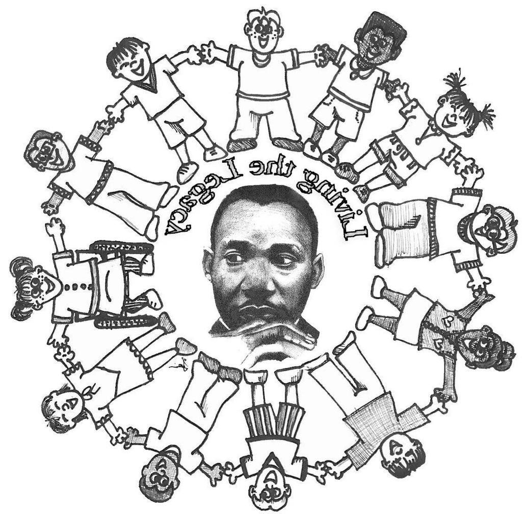 Martin Luther King Jr Day Coloring Pages Activities