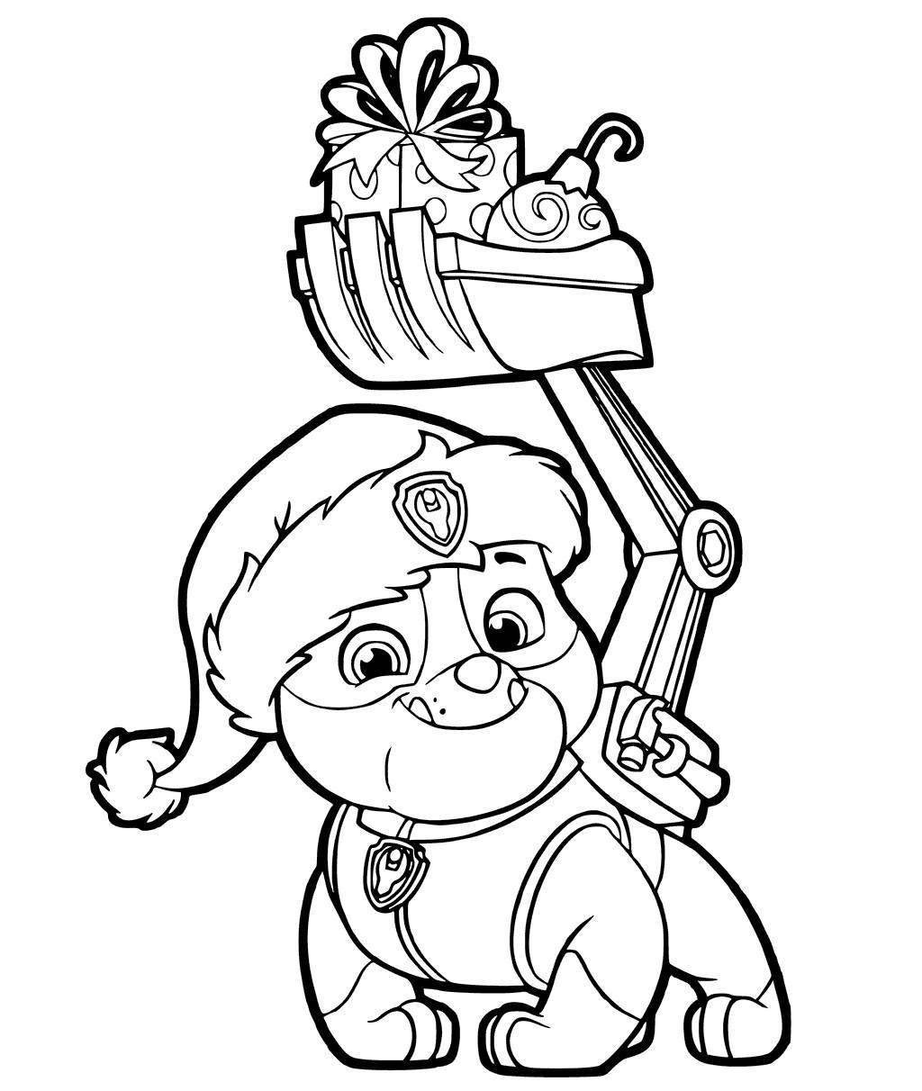 Paw Patrol Nickelodeon Coloring Pages Coloring Pages