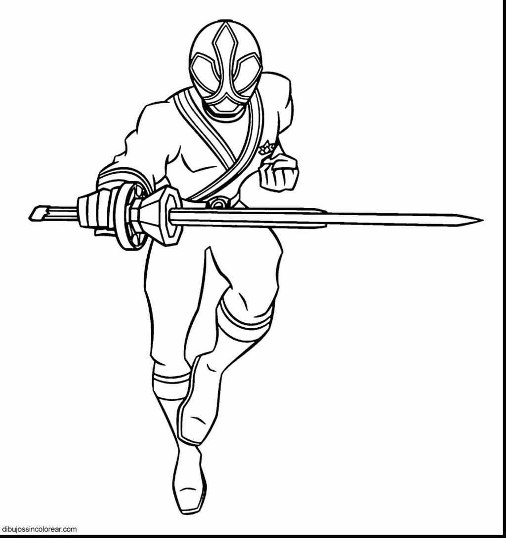 Power Rangers Samurai Coloring Pages Inspirationa Linear