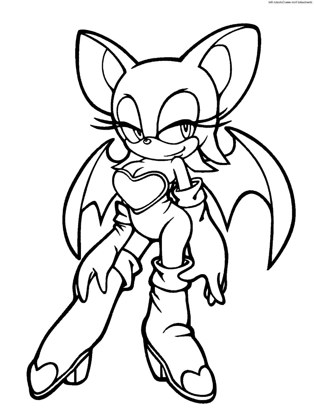 Sonic X Coloring Pages Ator Oloring Characters