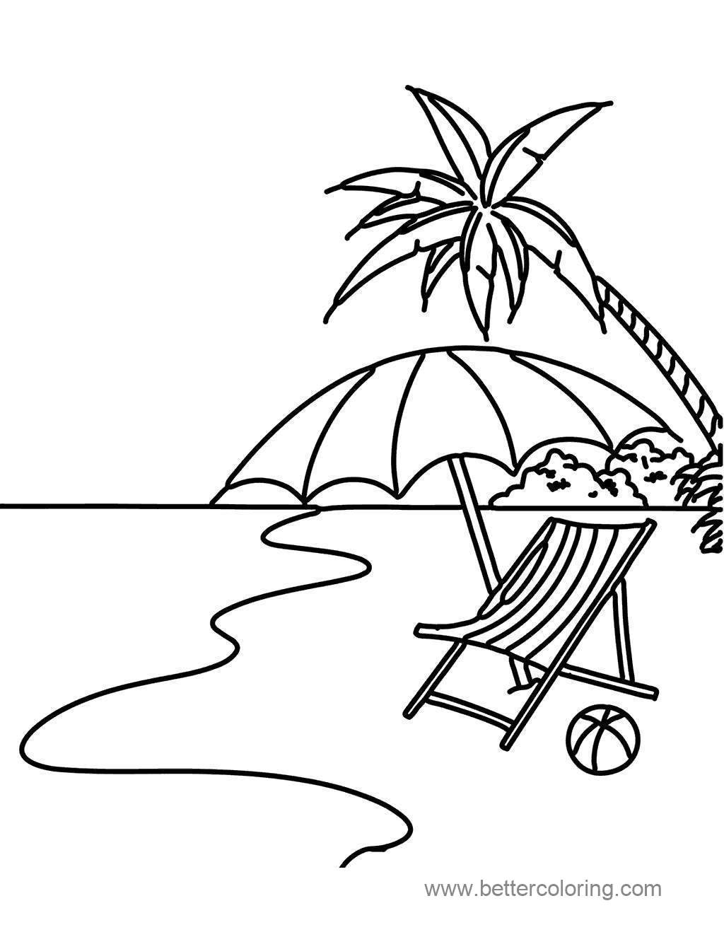Fresh Summertime Coloring Pages Characters 506