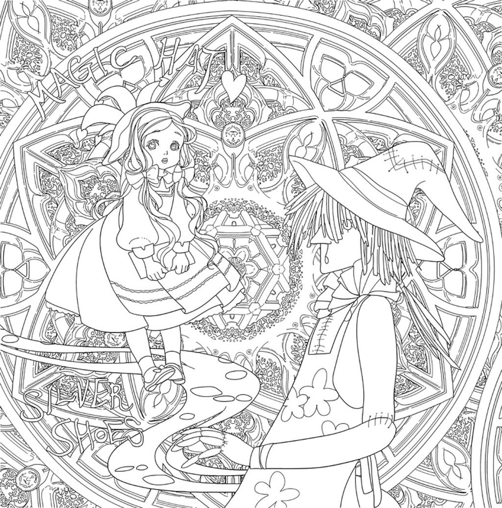 Wizard Of Oz Coloring Pages Worksheet