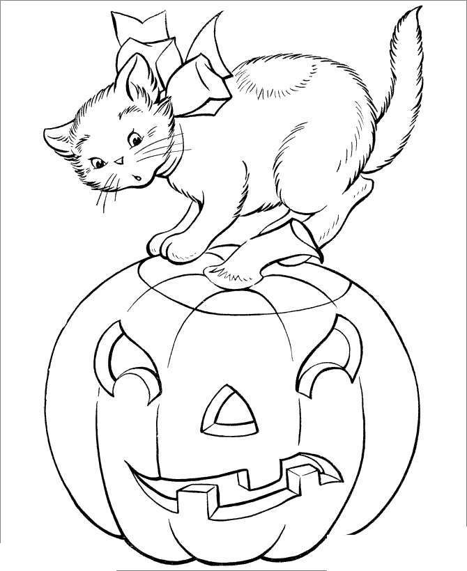 cute black cat coloring pages  free printable coloring pages