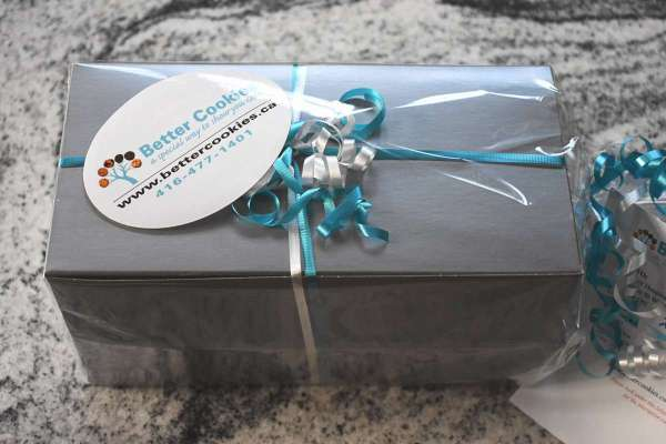 Small Silver Cookie Box Icare Boxes