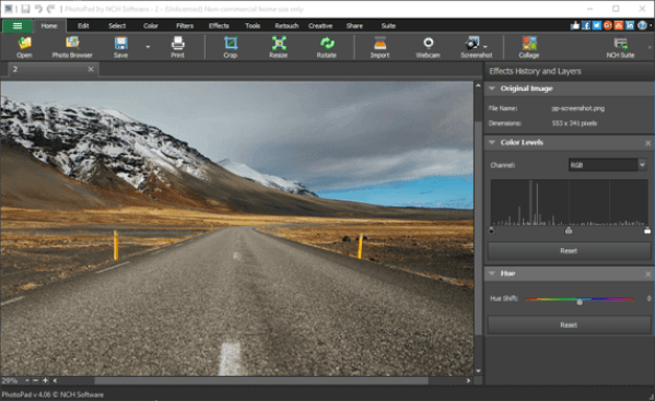 NCH PhotoPad Image Editor Professional Activation Code