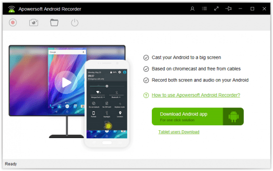 Apowersoft Android Recorder Download Full Version