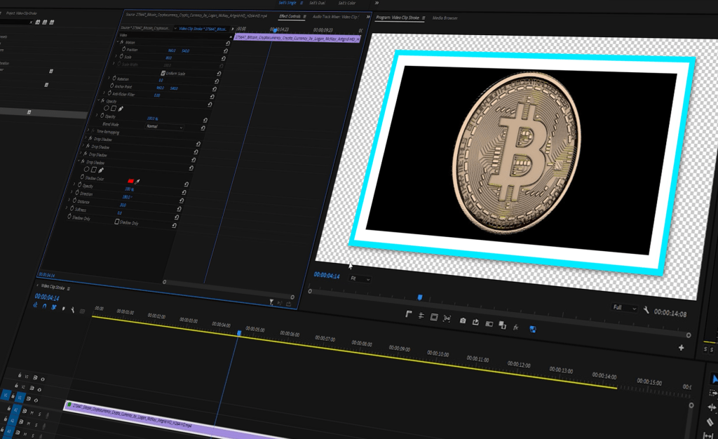How To Add a Stroke to Video Clips in Premiere Pro