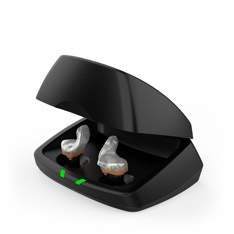 Rechargeable In the ear hearing aids