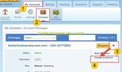 change primary domain hostgator shared hosting
