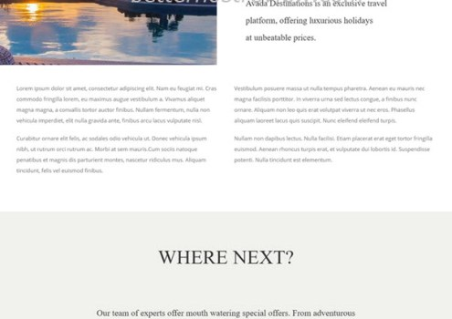 Quick Steps To Create A Travel Website With Avada Wordpress