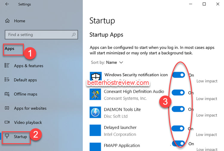 How to stop auto start programs in windows 10