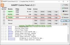 start filezilla ftp server in xampp