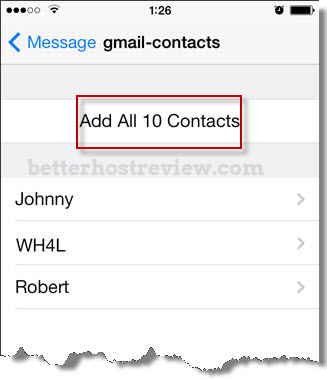 Transfer Vcf Contacts To Iphone Better Host Review