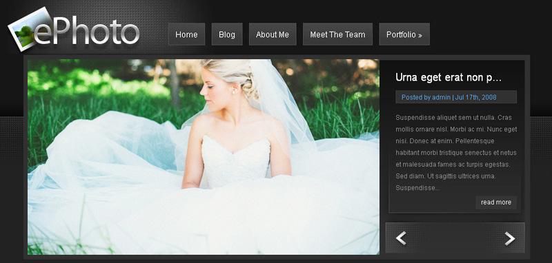 Wedding Photography Blog Better Host Review - Wedding photography website templates