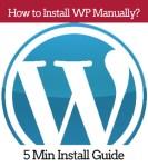 wordpress manual install