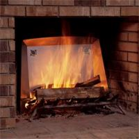 Fireplace Heat Reflectors | Better Home Improvement | www ...