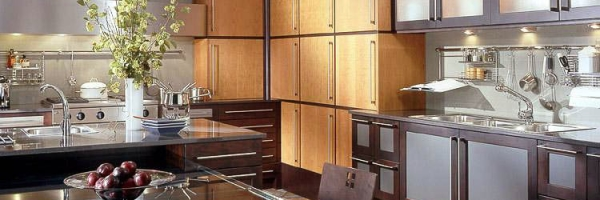 wood mode kitchens kitchen sink storage art deco by better chicago collages
